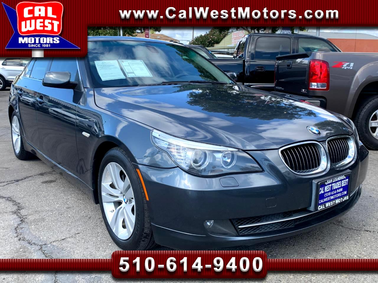 2010 BMW 5-Series 528i I-6 NAV Blu2th Leathr BUCam VeryNice GreatMtn