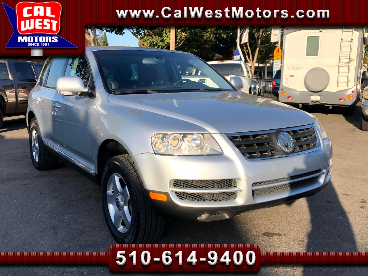 2005 Volkswagen Touareg 4WD V6 SUV Leather 1Owner GreatMtnce SuprClean