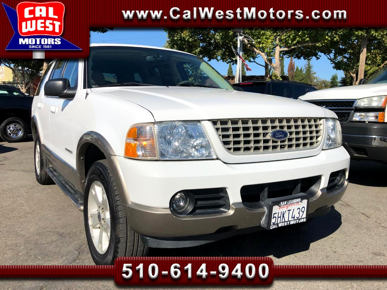 2004 Ford Explorer 4WD Eddie Bauer 4.6L 3Rows VeryClean GreatMtnce