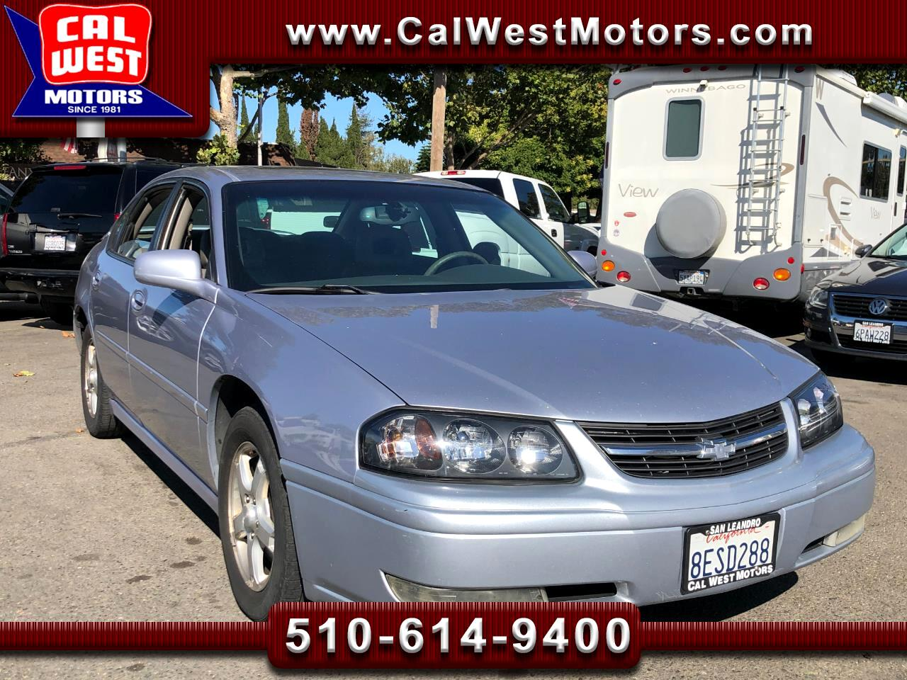 2005 Chevrolet Impala LS Sedan Sturdy 3.8L V6 MoonRf CD Leathr WellMaint