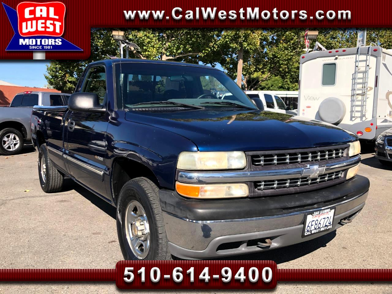 2000 Chevrolet Silverado 1500 4X4 Reg Cab 8FT VeryClean 1Owner GreatMtnce