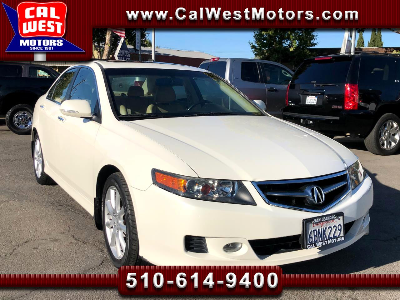 2008 Acura TSX Sedan 4Dr i-VTEC CD Blu2th MoonRoof ExprtlyMaintnd