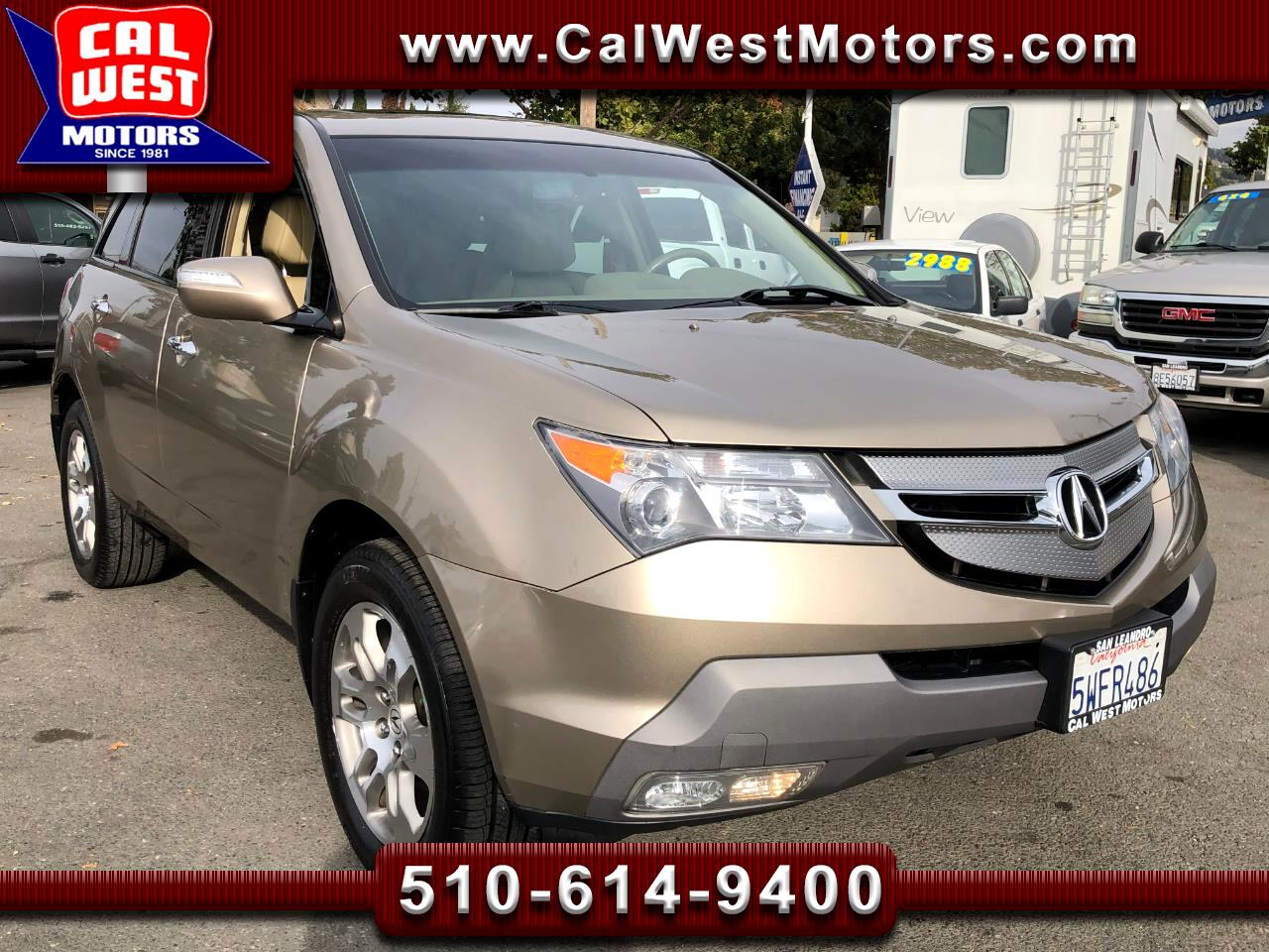 2008 Acura MDX SH-AWD TechPkg 3Rows DVD 1Owner ExMtnce SuprNice