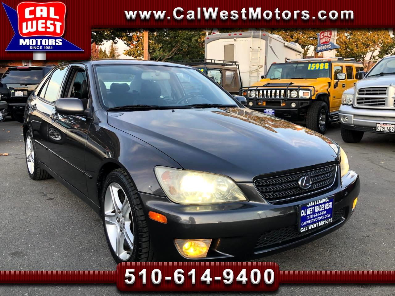 2002 Lexus IS 300 E-Shift Sedan 1Owner LowMiles GreatMtnce SuperNice