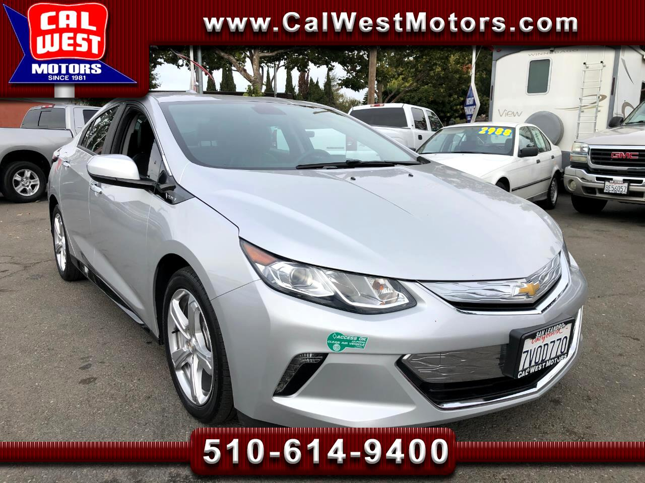 2017 Chevrolet Volt Voltec Sdn Leather BUCam Blu2th 1Owner GMWarranty