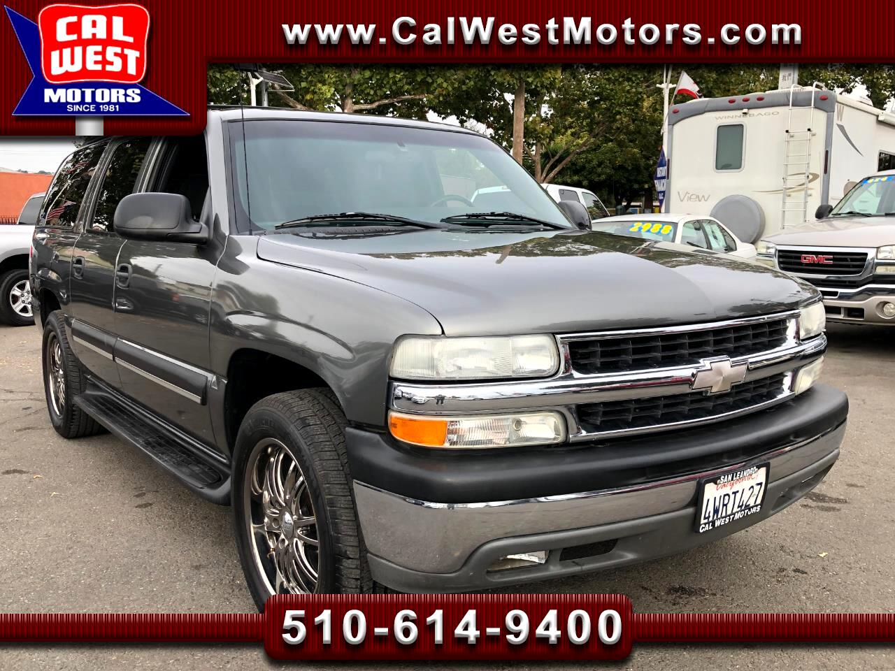 2002 Chevrolet Suburban 1500 LS RWD 9Passngr XtraClean LoMiles XprtlyMntnd