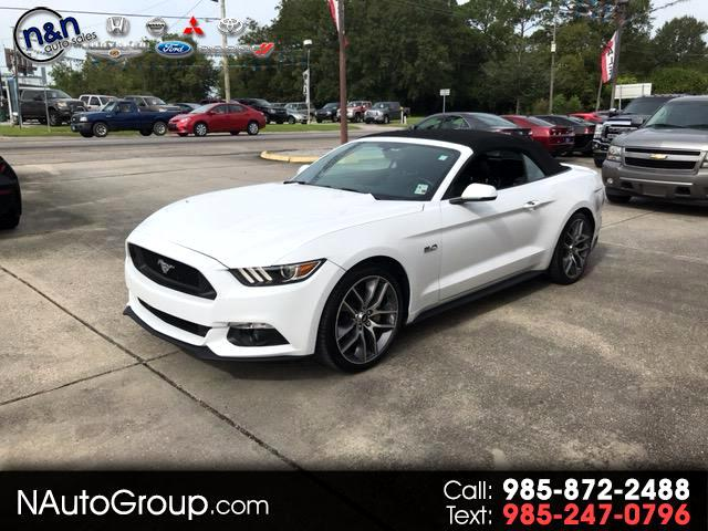 2015 Ford Mustang 2dr Conv GT Premium