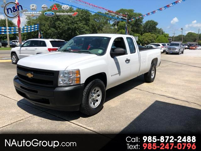 2012 Chevrolet Silverado 1500 Work Truck Ext. Cab Long Bed 2WD