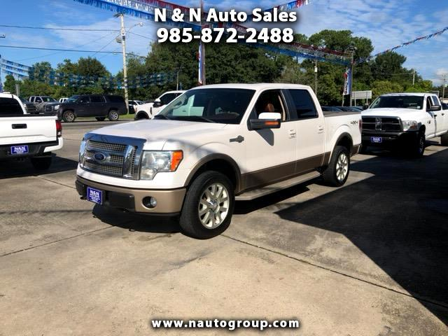 "2011 Ford F-150 4WD SuperCrew 139"" King Ranch"
