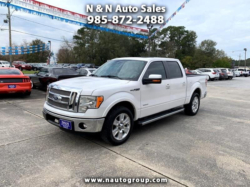 "2012 Ford F-150 2WD SuperCrew 145"" Lariat"