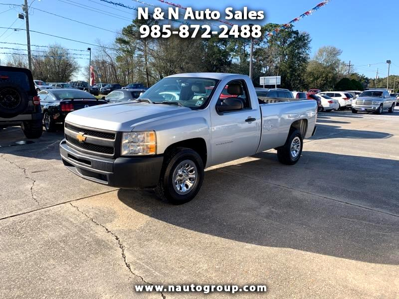 2013 Chevrolet Silverado 1500 Work Truck 1WT Regular Cab Long Box 2WD