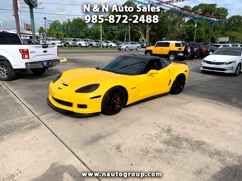 2006 Chevrolet Corvette 1LZ Z06 Coupe Manual