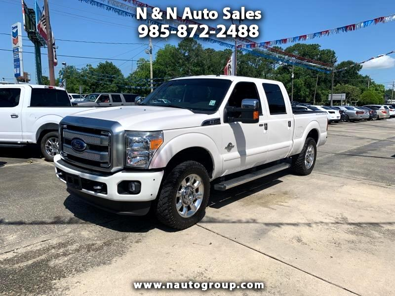 2015 Ford F-250 SD 4WD Platinum
