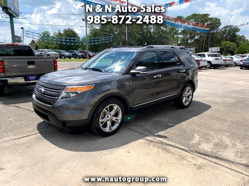 2015 Ford Explorer Limited 2WD