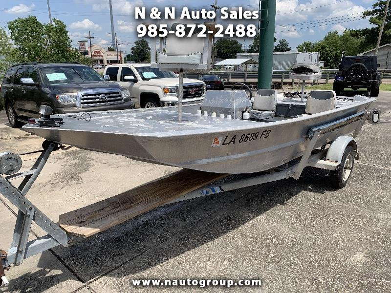 2000 Hankos Boats Aluminum Flat Bottom 16Ft