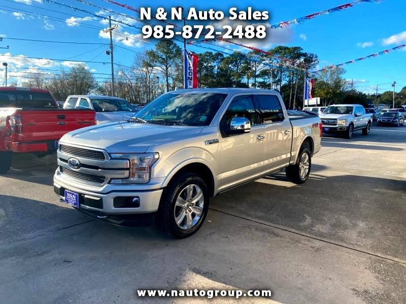 "Ford F-150 4WD SuperCrew 145"" Platinum 2019"