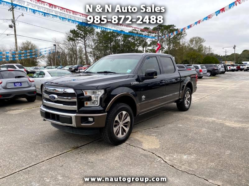 """Ford F-150 4WD SuperCrew 139"""" King Ranch 2015"""