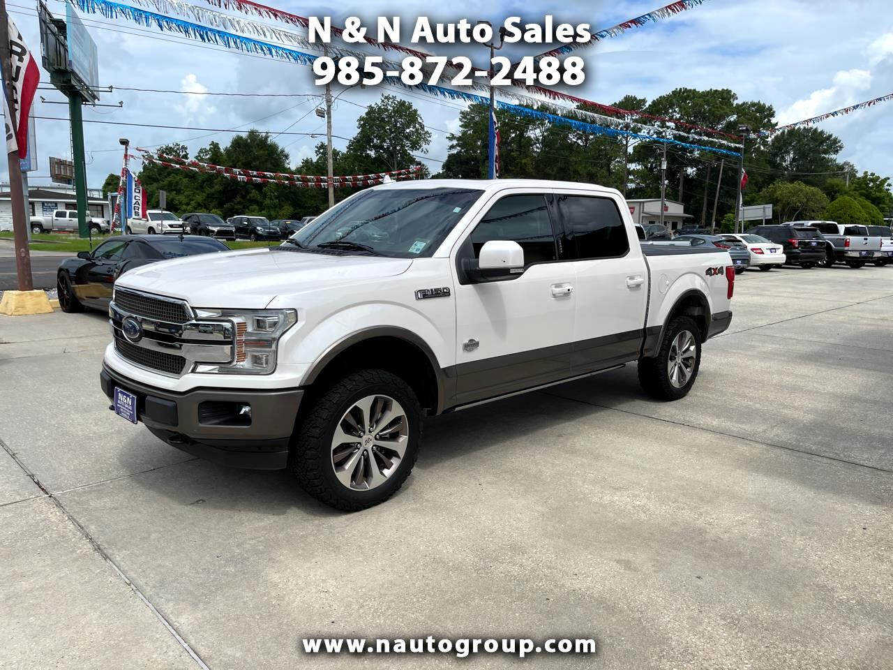 Ford F-150 King-Ranch SuperCrew 5.5-ft. 4WD 2018
