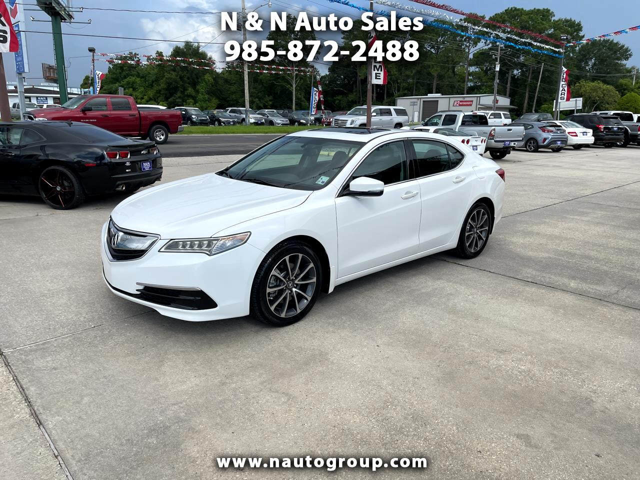 Acura TLX 9-Spd AT 2016