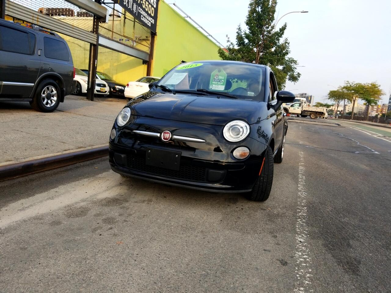 2015 Fiat 500 2dr HB Pop