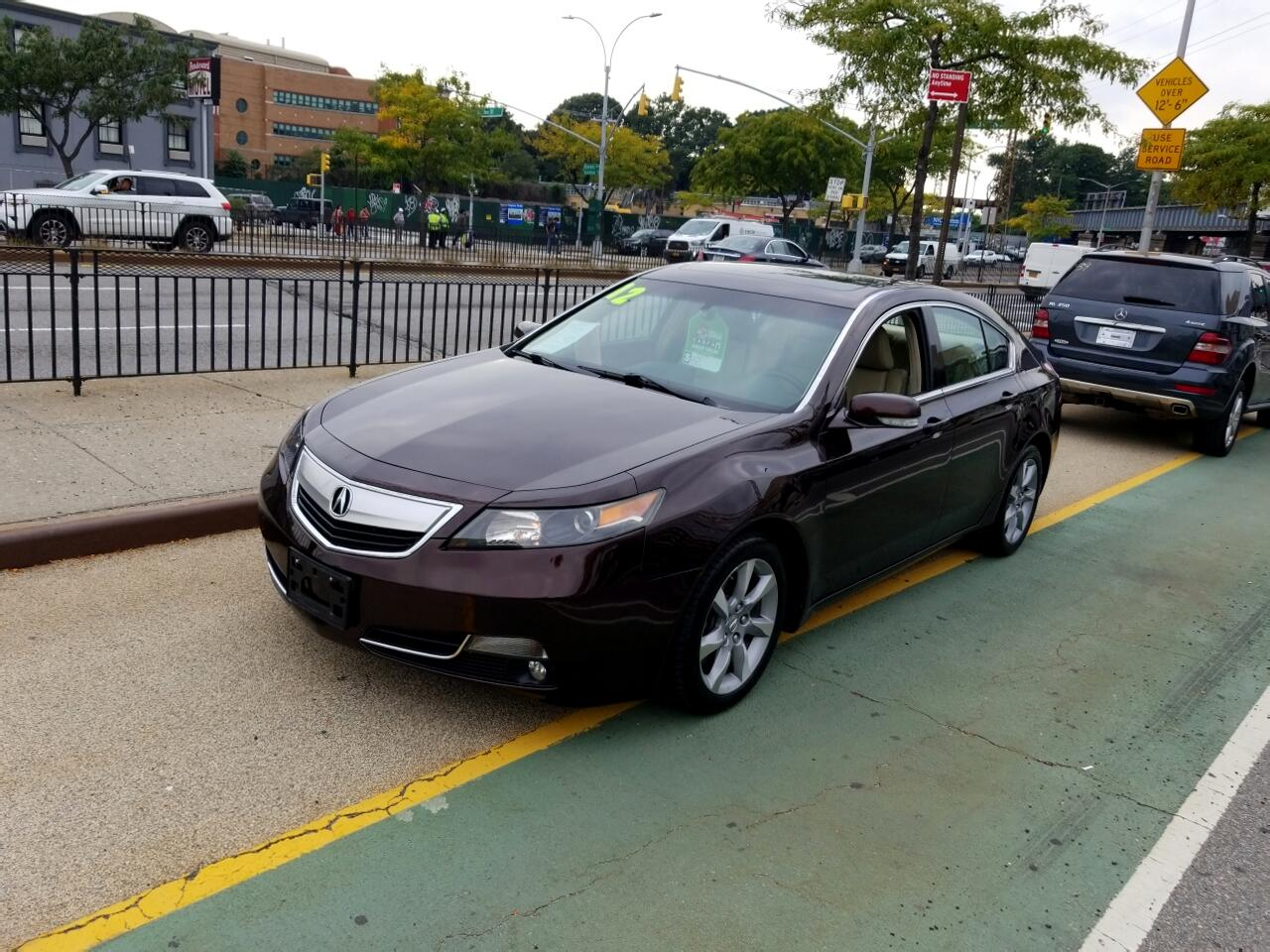 2012 Acura TL 4dr Sdn Auto