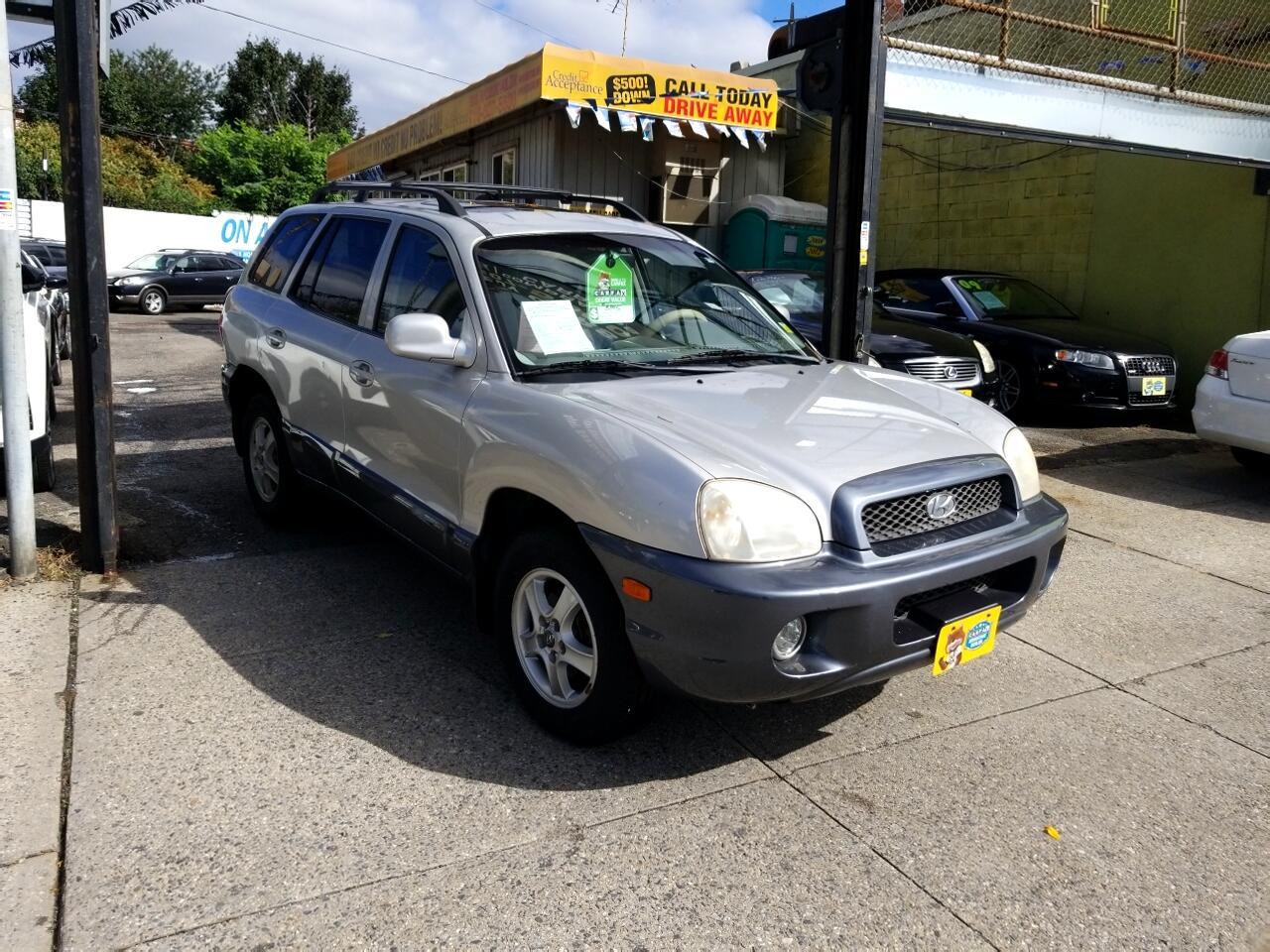2003 Hyundai Santa Fe 4dr GLS 4WD Auto 2.7L V6