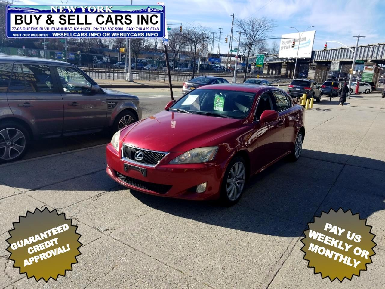 2007 Lexus IS 250 4dr Sport Sdn Auto AWD