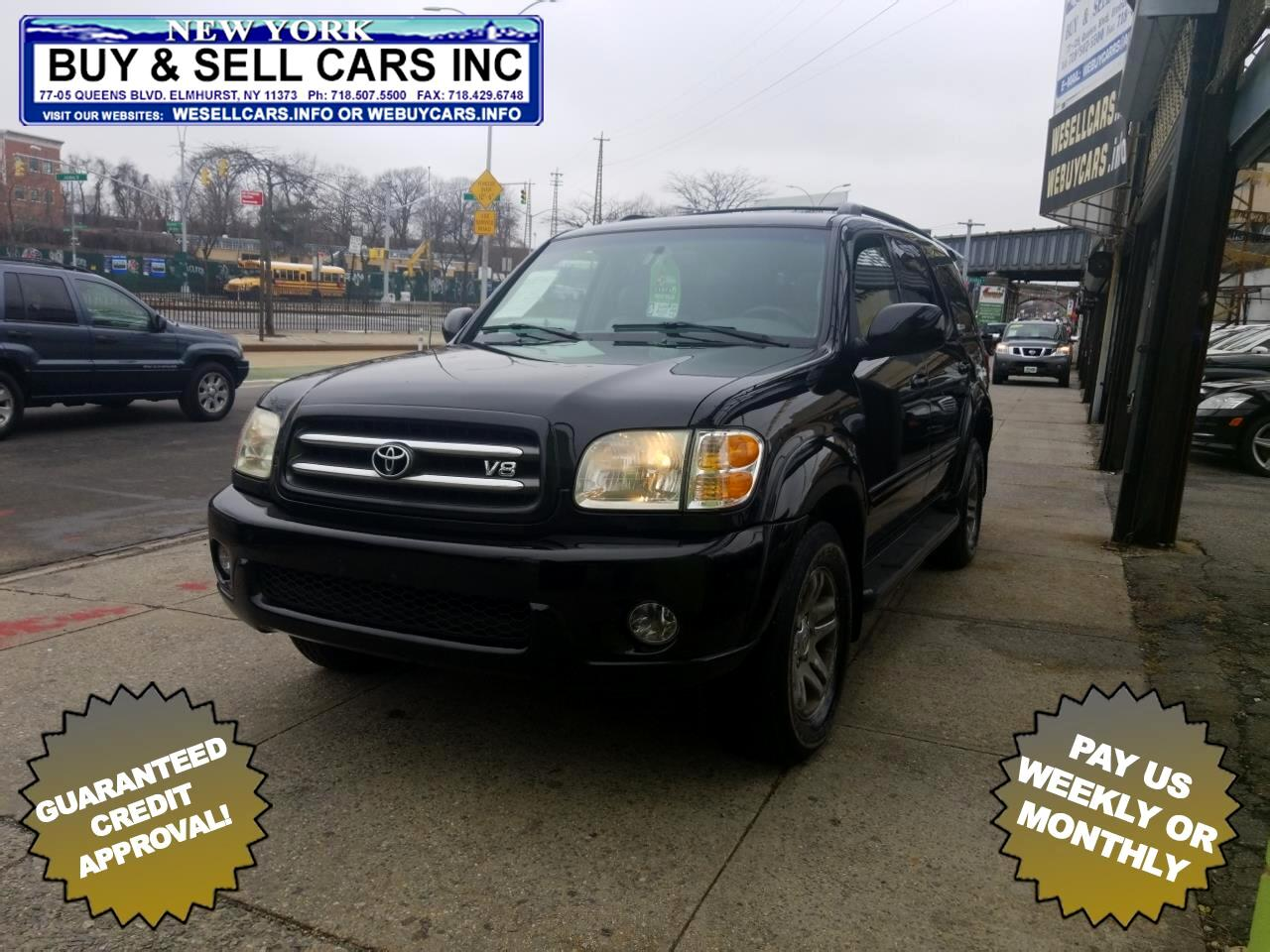 2004 Toyota Sequoia 4dr Limited 4WD (Natl)