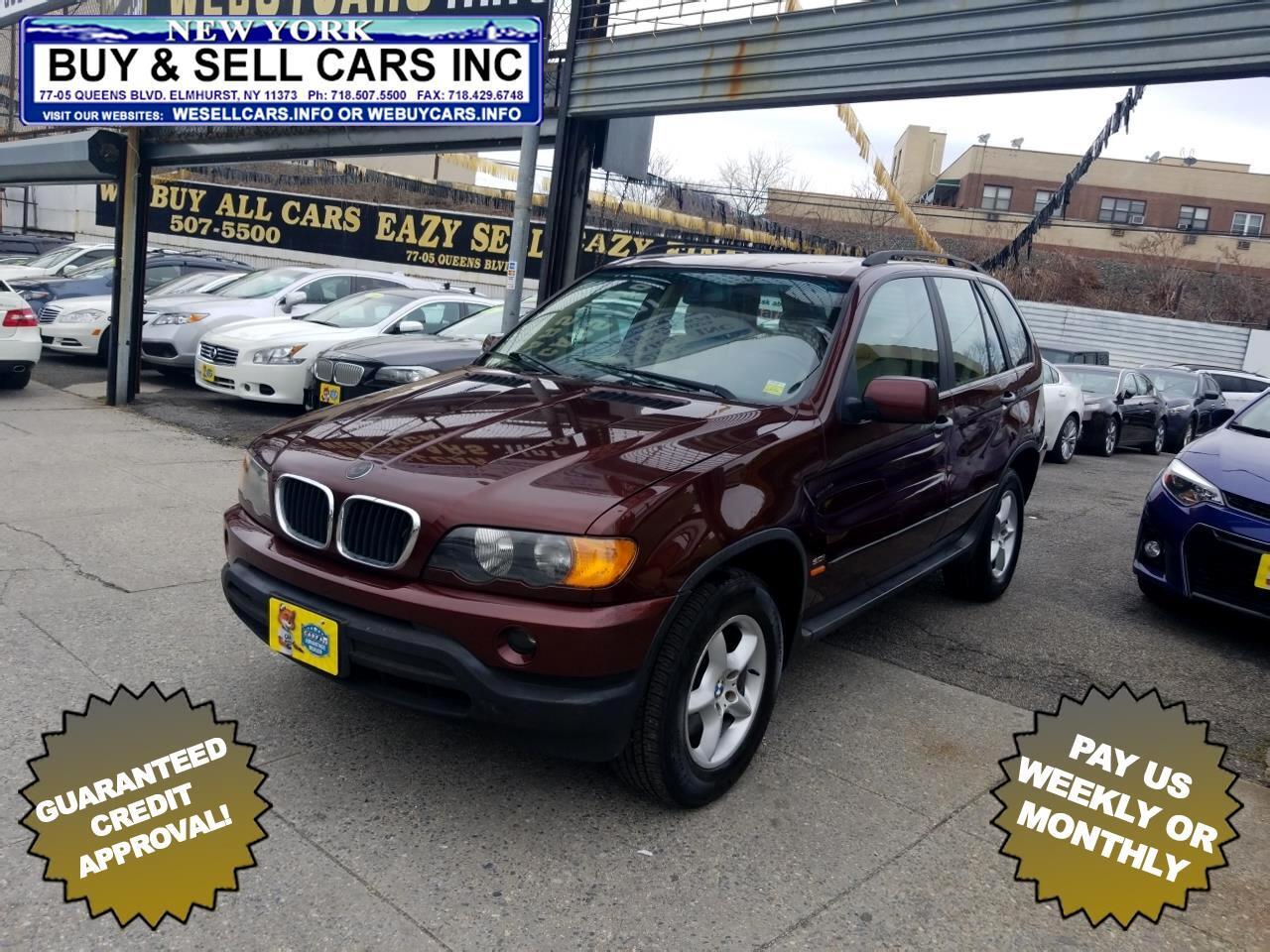 2001 BMW X5 X5 4dr AWD 3.0L