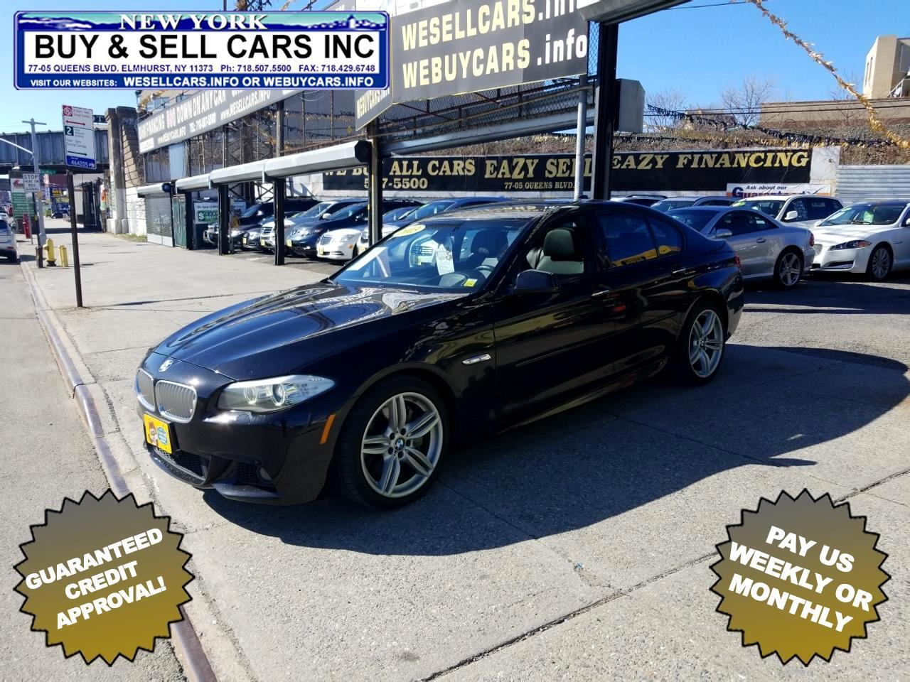 2013 BMW 5 Series 4dr Sdn 550i xDrive AWD