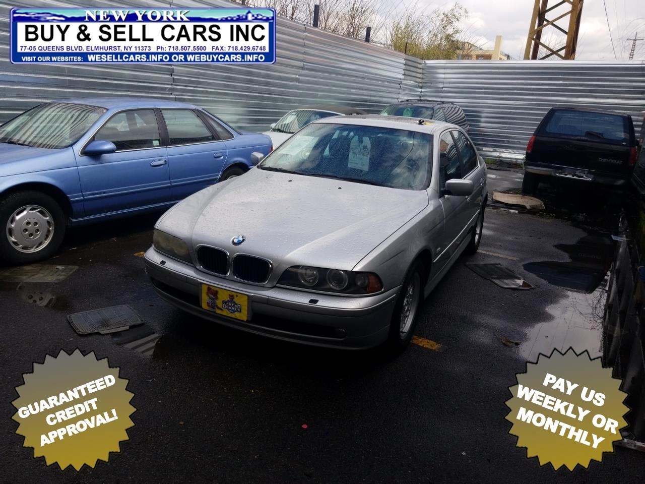 2002 BMW 5 Series 525iA 4dr Sdn 5-Spd Auto