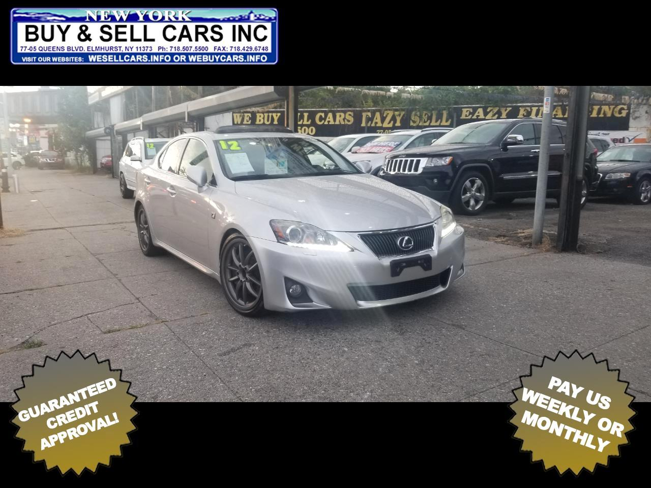 2012 Lexus IS 350 4dr Sdn AWD