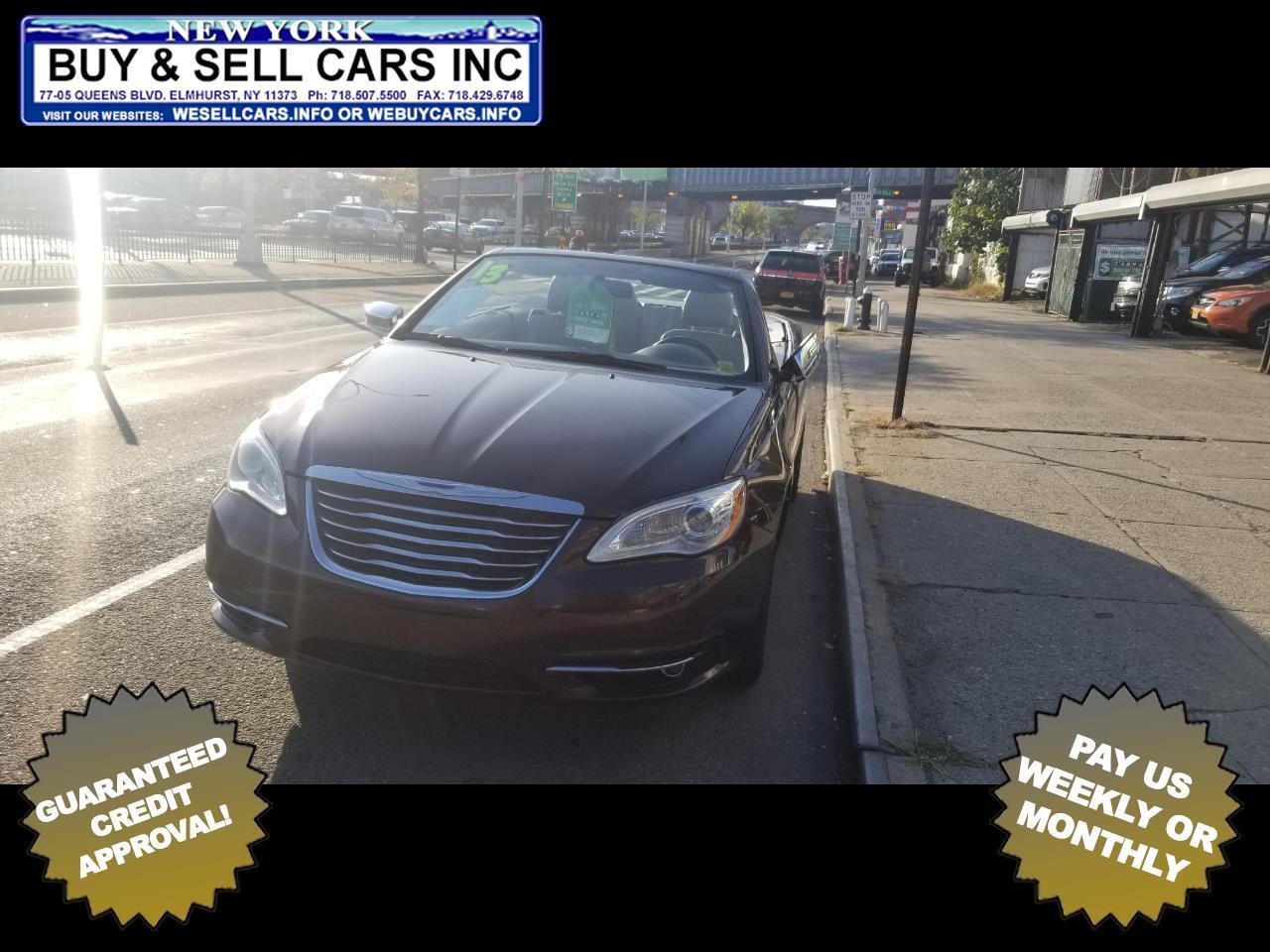 2013 Chrysler 200 2dr Conv Limited