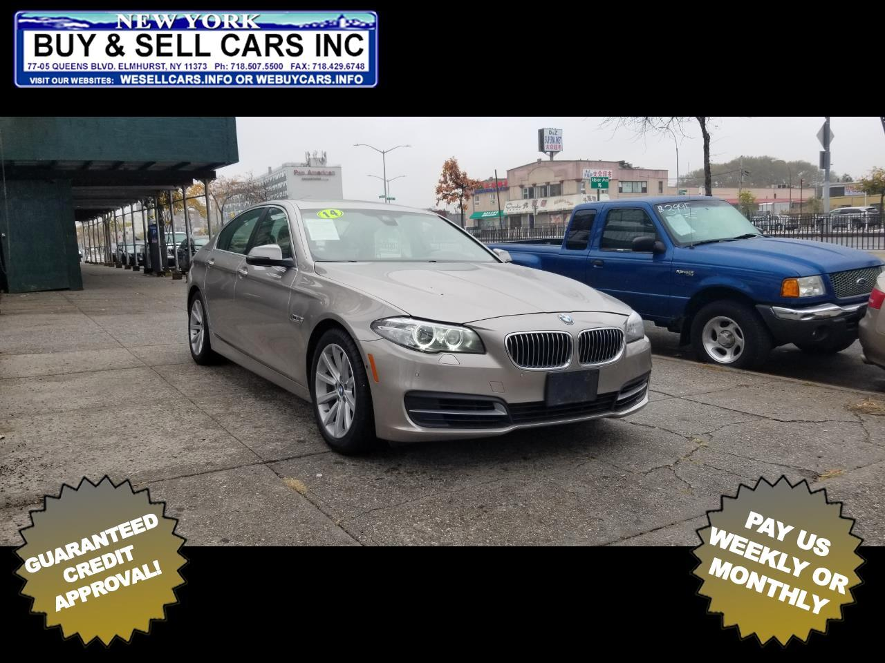 BMW 5 Series 4dr Sdn 535i xDrive AWD 2014
