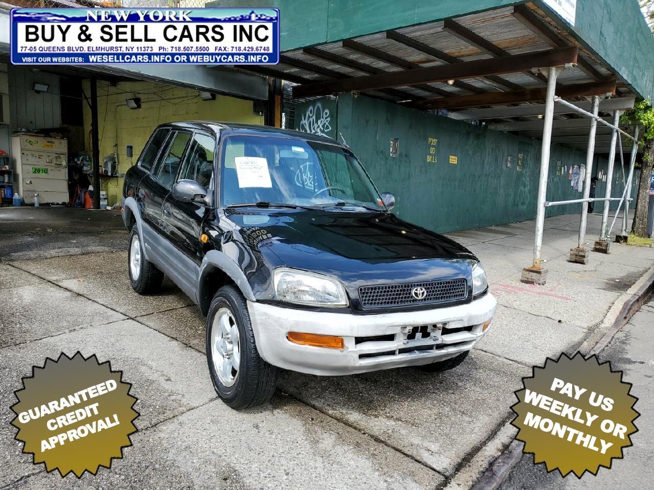 Toyota RAV4 4dr Auto 4WD 1997