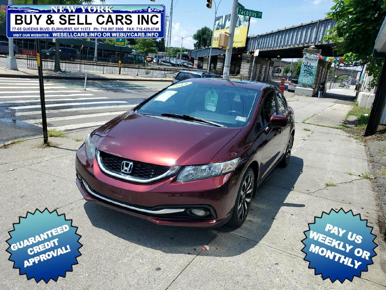Honda Civic Sedan 4dr CVT EX-L 2014