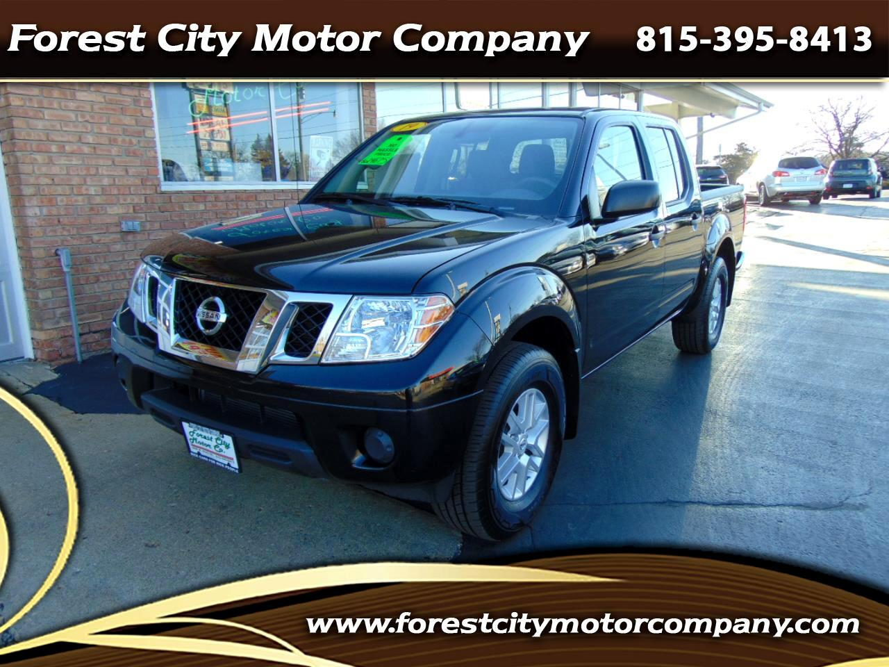 Nissan Frontier 4WD Crew Cab LWB Auto SV 2019