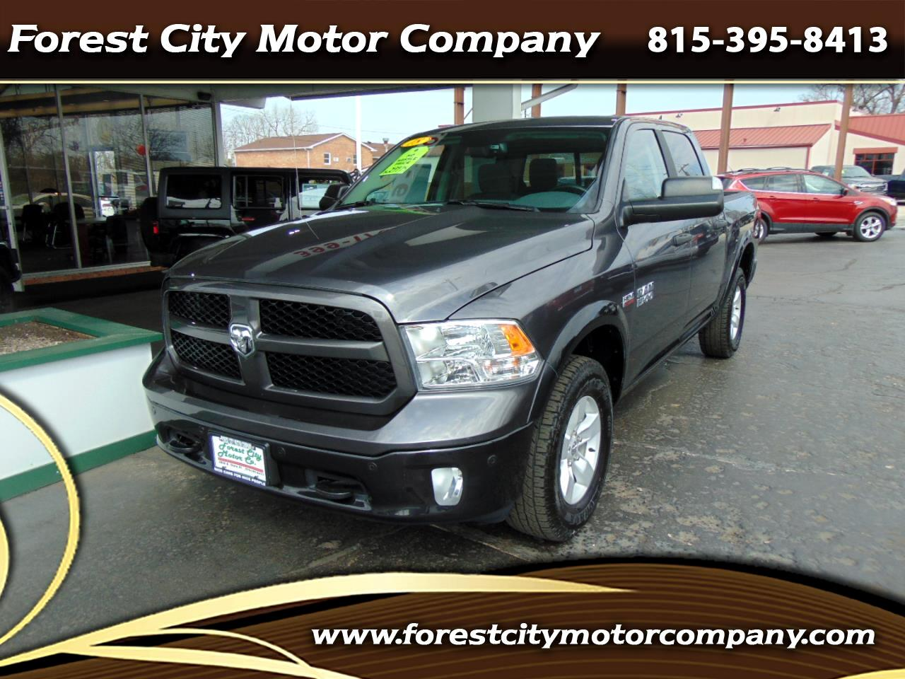 "RAM 1500 Outdoorsman 4x4 Crew Cab 5'7"" Box 2018"