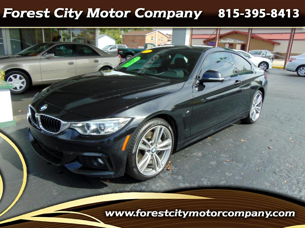 BMW 4 Series 430i xDrive Coupe SULEV 2017