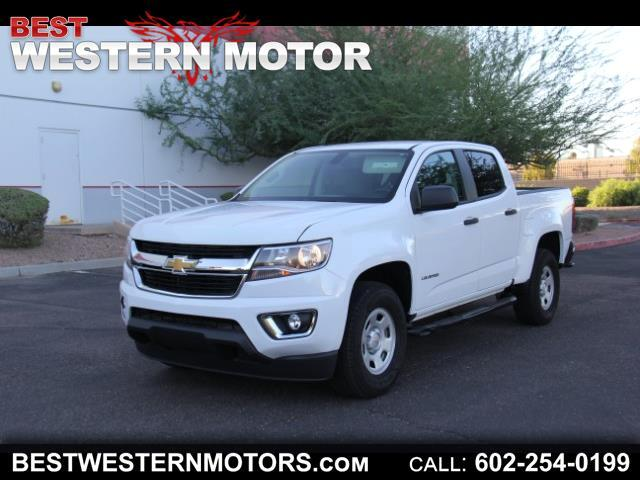 2018 Chevrolet Colorado Work Truck Crew Cab 2WD Long Box