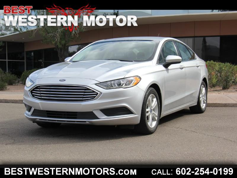 2018 Ford Fusion 4dr Sdn I4 SE