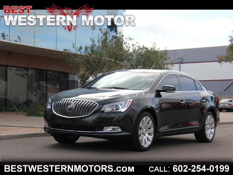 2015 Buick LaCrosse Premium Package 1, w/Leather AWD