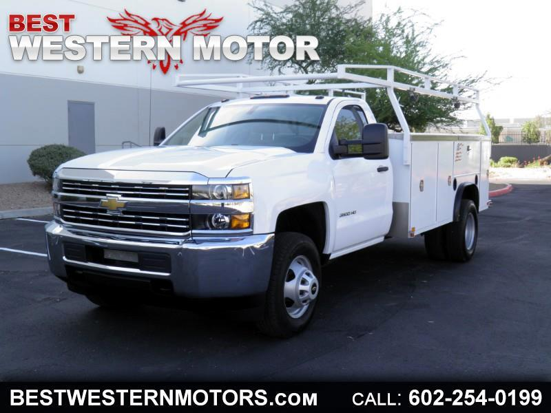 2017 Chevrolet Silverado 3500HD Work Truck Long Box 2WD
