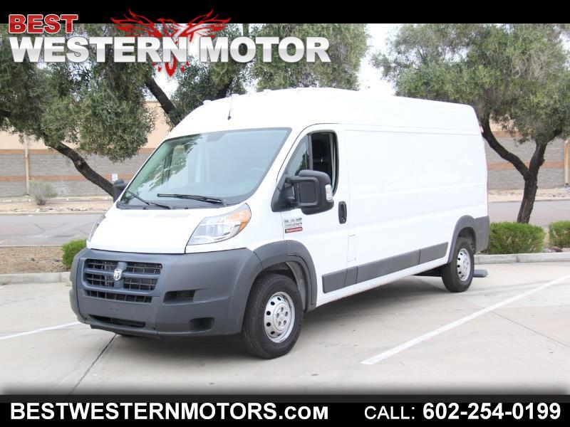 RAM Promaster 2500 High Roof Tradesman 159-in. WB 2017