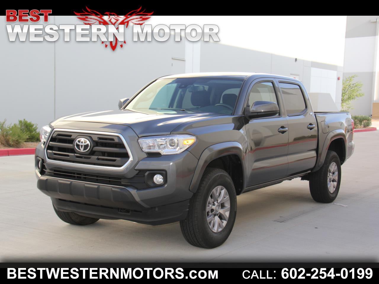 Toyota Tacoma SR5 Double Cab Long Bed V6 6AT 2WD 2018