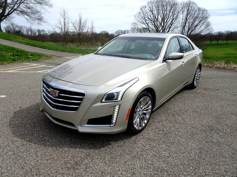 2015 Cadillac CTS 2.0L Turbo Luxury AWD