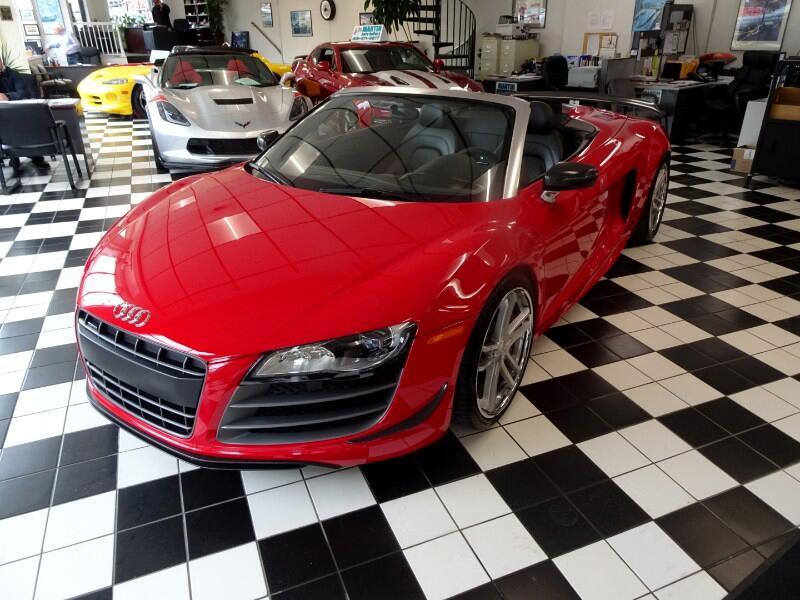 2012 Audi R8 5.2 GT SPYDER