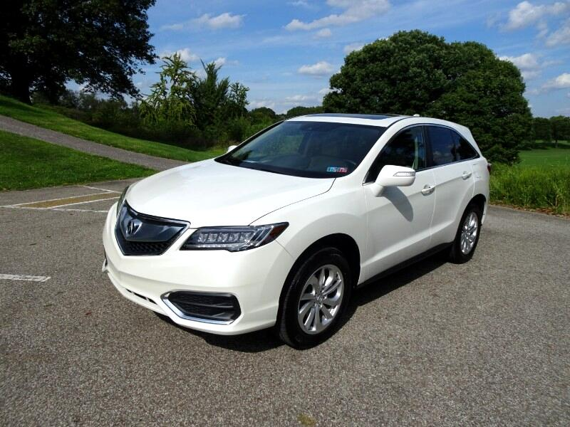 2016 Acura RDX 6-Spd AT AWD w/ Technology Package