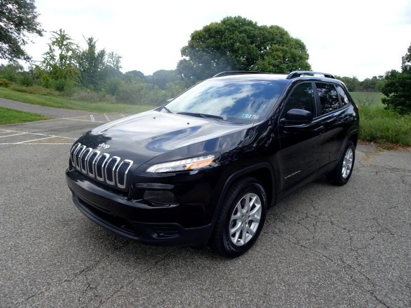 2017 Jeep Cherokee Sport 4wd Latitude