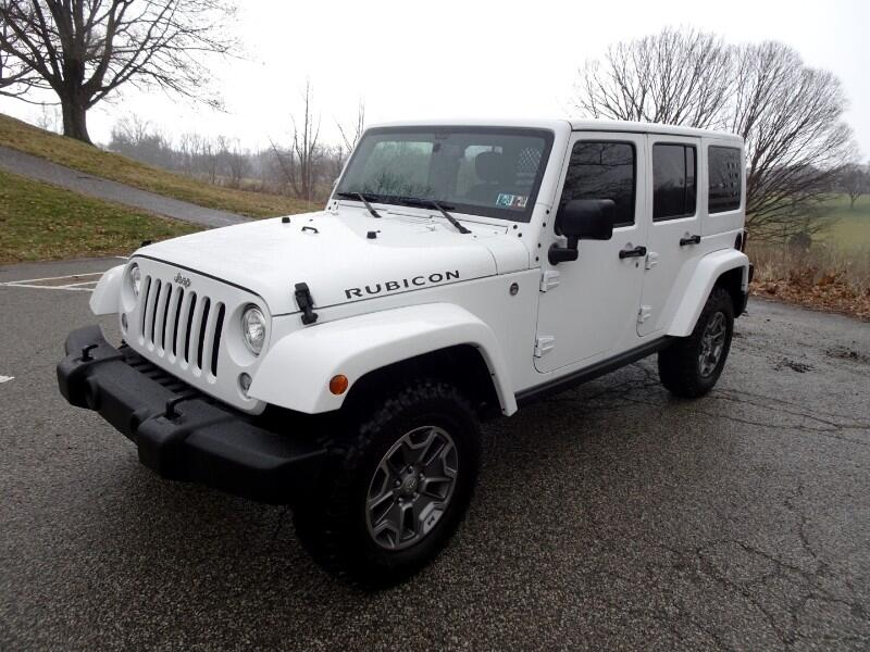 Jeep Wrangler JK Unlimited Rubicon 4WD 2018